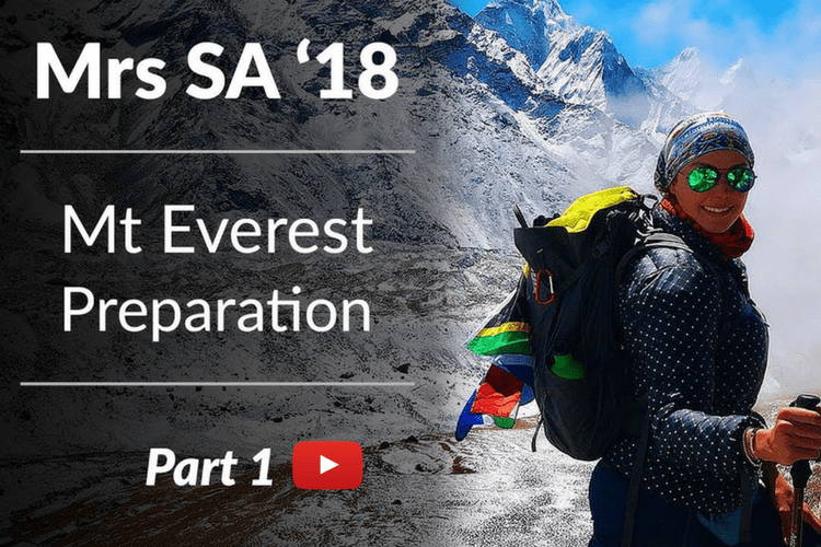 Prepping for Mt Everest Base Camp – Video One