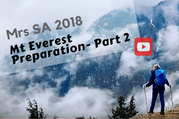 Prepping for Mt Everest Base Camp – Video Two