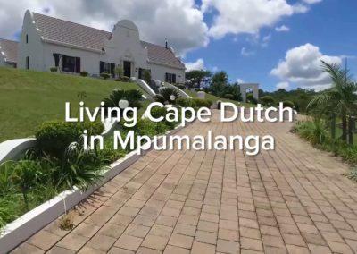 Living Cape Dutch in Mpumalanga