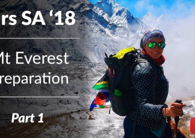 Mrs SA 2018 | Prepping For Mt Everest Base Camp | Part 1