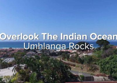 Overlook The Indian Ocean | Umhlanga Rocks