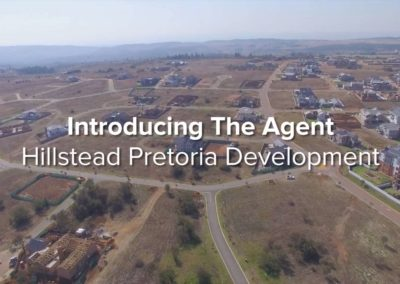 Real Estate Agent Introduces His Development Project