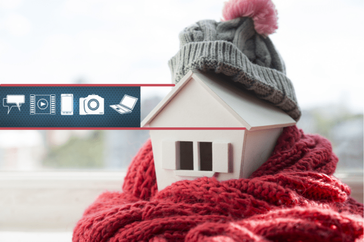 Use walkthrough video and keep selling in winter